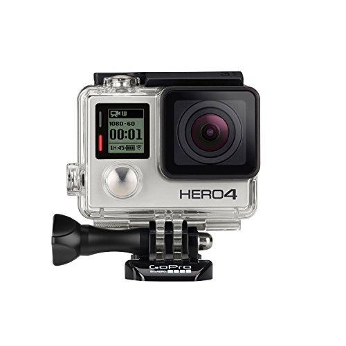 GoPro – Actionkamera HERO4 (Silver Adventure)