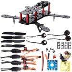 XCSOURCE 4-Achsen 250 3K Karbonfaser FPV Quadcopter Kit Combo