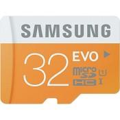 Samsung Speicherkarte MicroSDHC 32GB EVO UHS-I Grade 1 Class 10