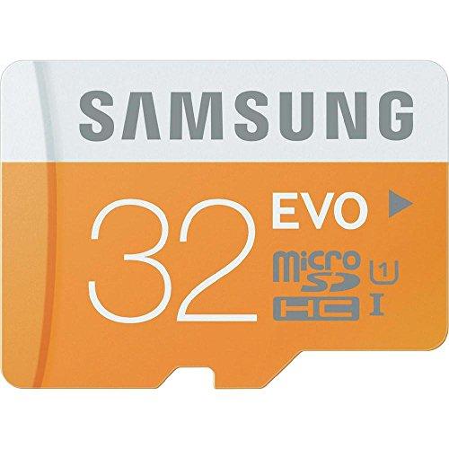 Samsung – MicroSDHC 32 GB EVO UHS-I Grade 1 (Class 10), mit SD Adapter