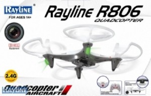 Rayline Quadrocopter R806 inkl. HD Cam,2.4 GHz 4-Kanal 6-Achsen Drohne5
