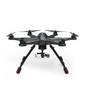XINTE Walkera TALI H500 FPV Drone Hexacopter RTF mit DEVO F12E Batterie G-3D-Gimbal Ladegerät ILOOK + Full Set (Dark Grey)