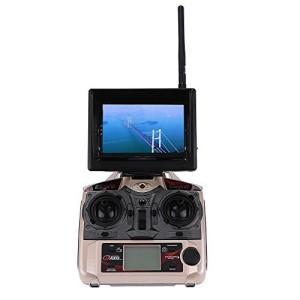 GoolRC Original JJRC H8D FPV RTF RC Quadrocopter Headless Mode One Key Return Drone mit 2.0MP Kamera FPV Monitor LCD4