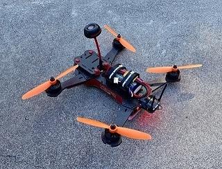 FPV Racing Quadrocopter