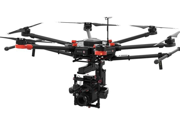DJI Hexacopter Matrice 600