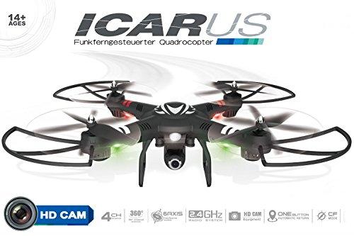 maximum rc icarus q303 viel quadrocopter f r wenig geld. Black Bedroom Furniture Sets. Home Design Ideas
