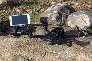 yuneec mantis q - quadrocopter und controler