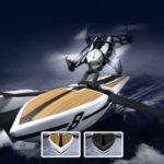 Parrot Hydrofoil Drone Orak und NewZ