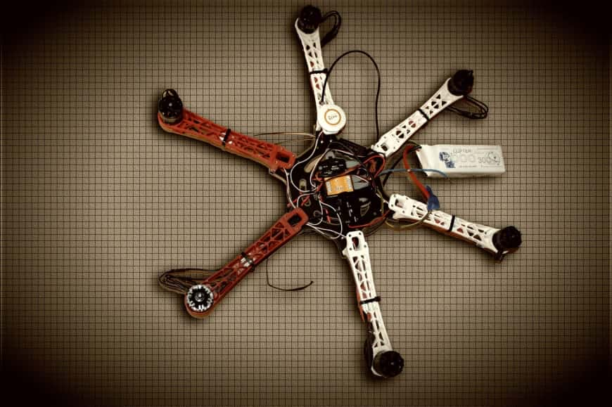 Drohnen-Bausatz
