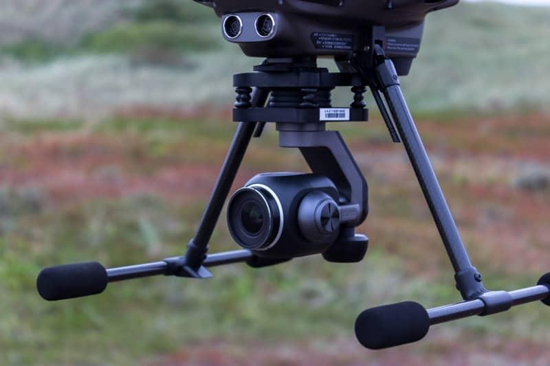 Gimbal und Kamera: Hier beim Yuneec Typhoon H Plus Hexacopter