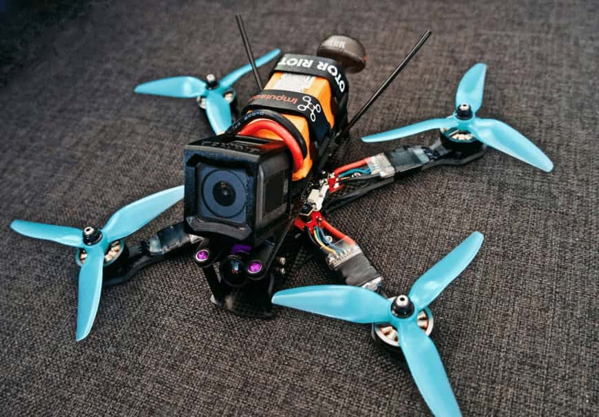 FPV-Racing-Drohne selber bauen