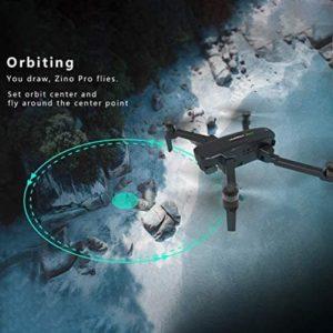 Zino Pro 4K Orbit Flugmodus