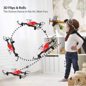 ATOYX AT 146 Drohne mit 3D Flips und Rollen