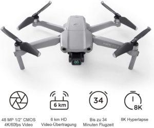 DJI Mavic Air 2 - faltbare Drohne mit 4K-Kamera