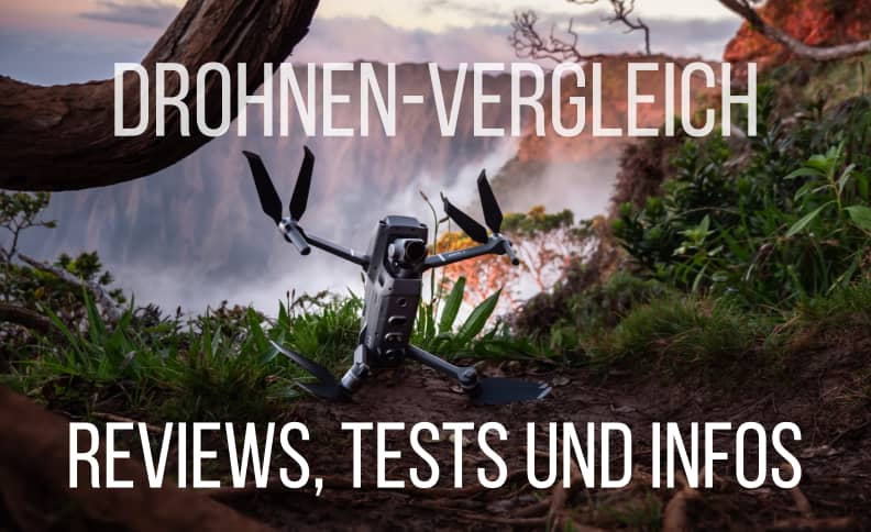 Drohnen-Vergleich: Reviews, Tests & Informationen zu Multicoptern