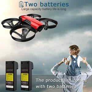 SANROCK U61W Drohne mit 2 Akkus