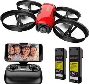 SANROCK U61W - Drohne für Kinder mit Kamera