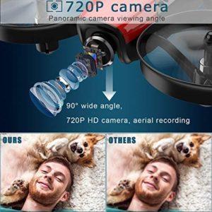 SANROCK U61W Drone mit 720p-HD-Kamera