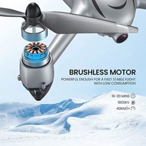 Potensic D80 mit Brushless-Motoren