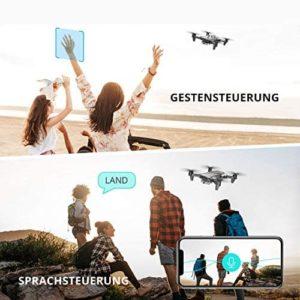 DEERC D20 Drone mit Gesten- & Sprachsteuerung