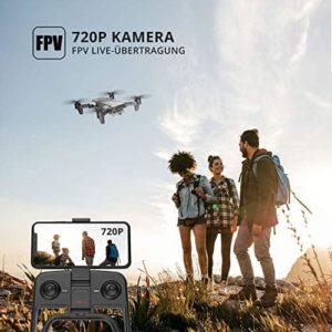 Die Kamera der DEERC D20