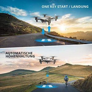 DEERC D20 Drohne – Start & Landung auf Knopfdruck