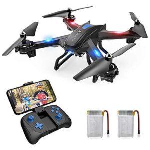 Snaptain S5C: Drohne, Controller und Akkus