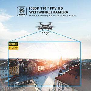 Die Kamera der Holy Stone HS110G