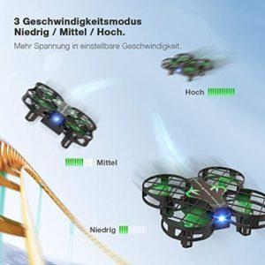 Snaptain H823H Drohne 3 Geschwindigkeiten
