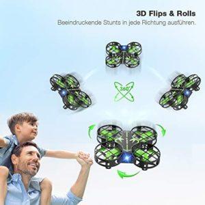 Die Snaptain H823H beherrscht 3D-Flips & Drehungen