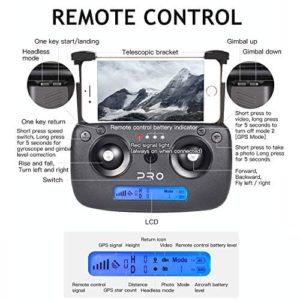 Der Controller der GoolRC SG906 Pro