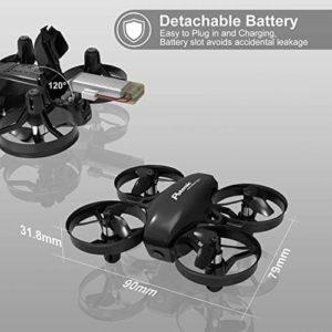 Potensic A20W: Kompakter Mini-Quadrocopter mit 2 Akkus