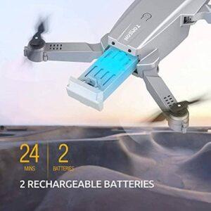 Tomzon D25 Drohne mit 2 Akkus