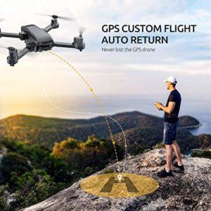 Tomzon D30 GPS und Return-to-Home