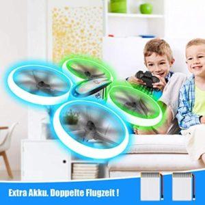 Avialogic Q9s Drohne mit 2 Akkus