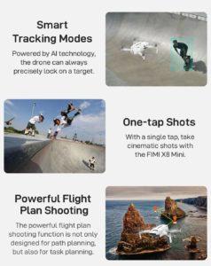 Xiaomi FIMI X8 Mini Active Track Smart Tracking