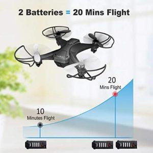 tech rc TR008W Predator  - Drohne mit 2 Akkus