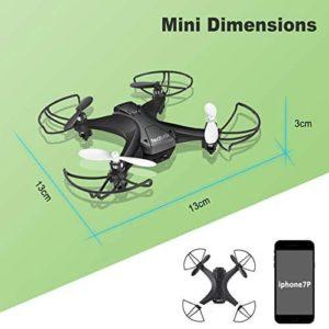tech rc TR008W Predator Micro-Drohne