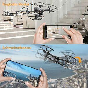 Hasakee Q10 Drohne mit Smartphone Steuerung